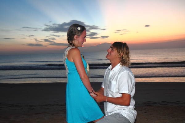 Sunrise Wedding, Palm Coast